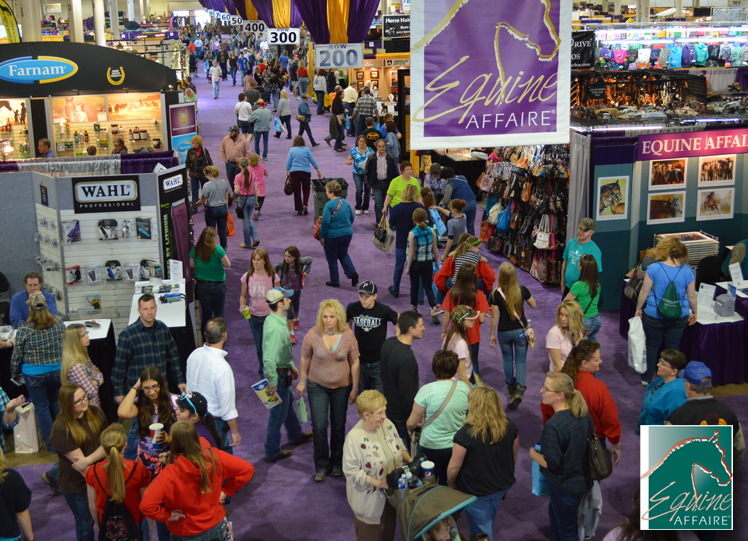 It's almost time for the Equine Affaire! See EQUISTIX at booth 2916